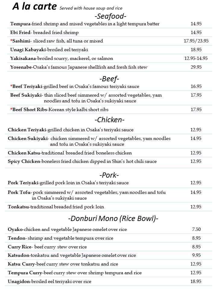 Kitchen Menu Page Slide4