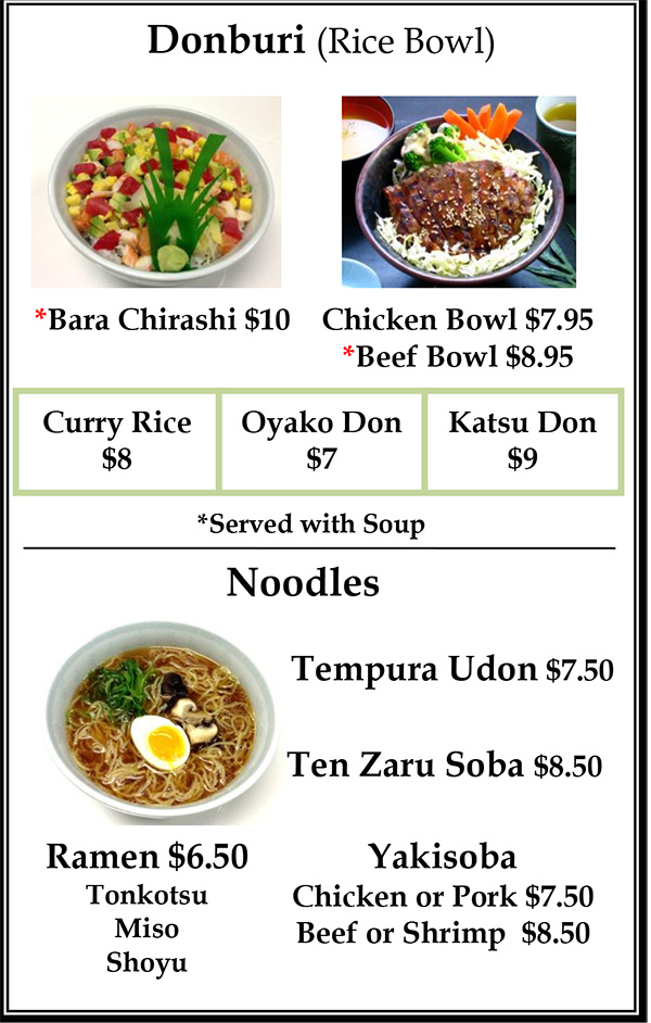 Lunch Menu Page 4