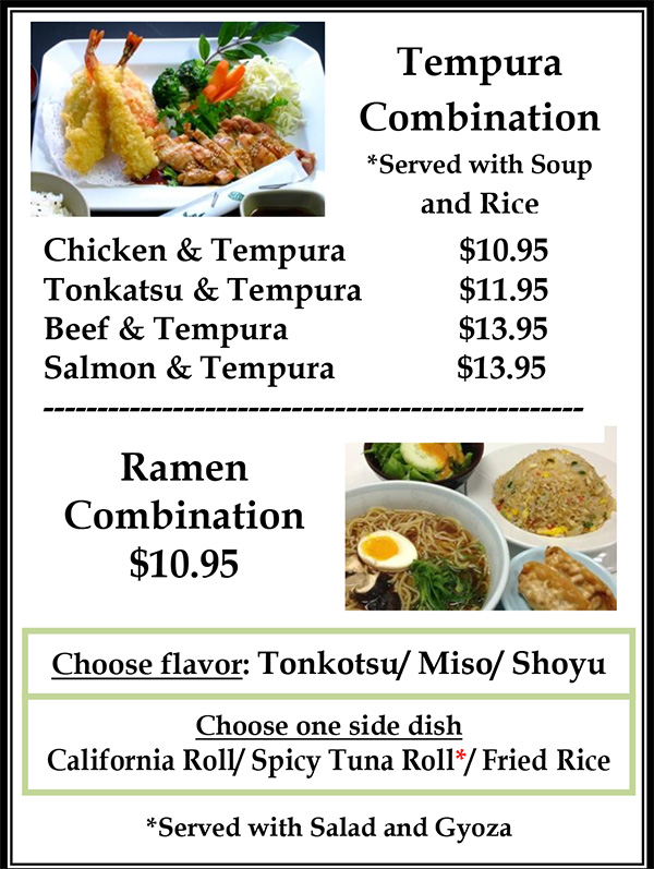 Lunch Menu Page 5