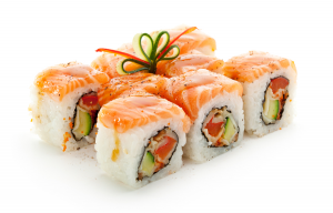 Picture of modern style combination sushi roll