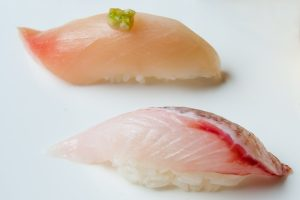 nigiri sushi prepared by Osaka Las Vegas