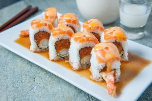 Oh Kamisama sushi roll