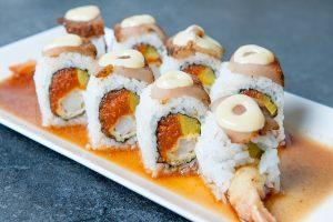 Sassy sushi roll