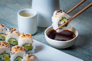 White Tiger sushi by Osaka Japanese Bistro