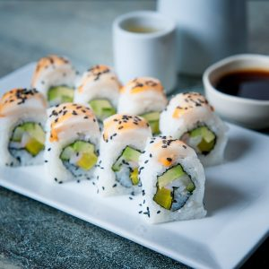 White Tiger sushi roll