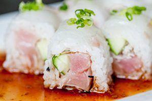 Delicious Sushi Menu Image