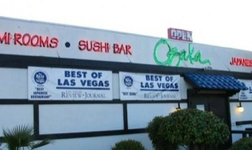Osaka Japanese Bistro on Sahara Ave, Las Vegas