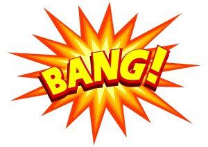 """cartoon explosion """"bang"""""""