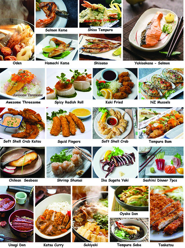 Osaka Kitchen Seafood Appetizer Menu Pictures